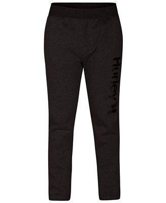 size 40 7cf8f 547b3 Hurley Men s One   Only Surf Check Fleece Track Pants   Reviews - All  Activewear - Men - Macy s
