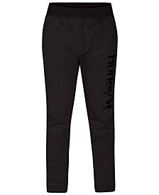 Hurley Men's One & Only Surf Check Fleece Track Pants