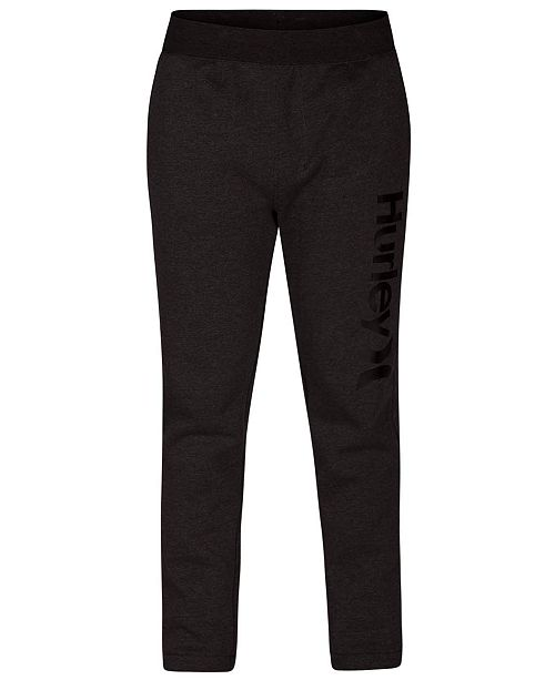 sports shoes 7b887 13ad3 ... Hurley Men s One   Only Surf Check Fleece Track Pants ...