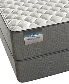 "ONLINE ONLY! BeautySleep 11"" Beaver Creek Firm Mattress Set- Twin"