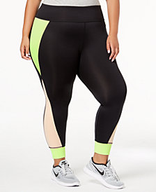 Nike Plus Size Sportswear Colorblocked Leggings