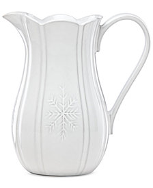 Lenox Alpine  Carved Pitcher