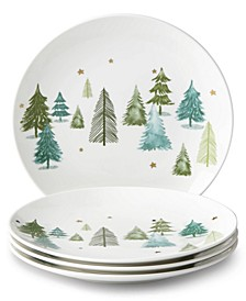 Balsam Lane Accent Plates, Set of 4