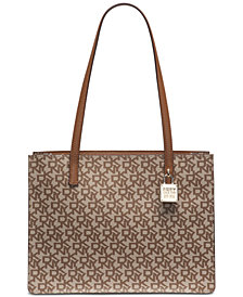 DKNY Commuter Signature Tote, Created for Macy's