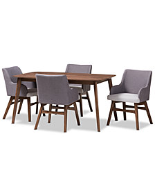 Donte 5-Pc. Dining Set, Quick Ship