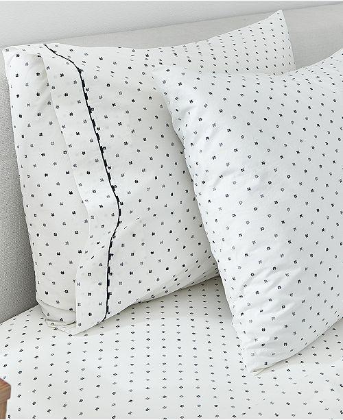 Splendid Hashtag Set of 2 King Pillowcases