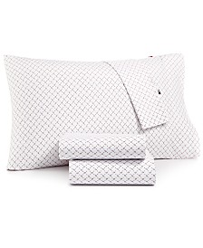 Tommy Hilfiger Twin XL Kamma Paisley Sheet Set