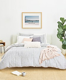 Splendid Laguna Stripe Full/Queen Duvet Cover Set, Created for Macy's