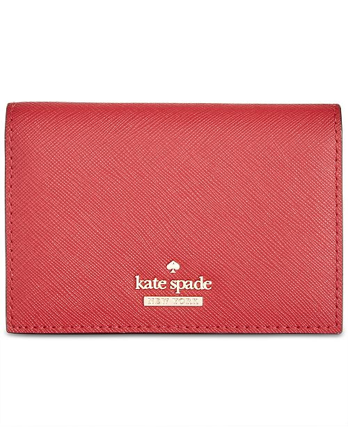 bf3bee7fa403 kate spade new york Gabe Saffiano Leather Wallet   Reviews ...