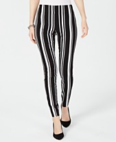 1997a1b6c79a51 I.N.C. Pull-On Striped Skinny Pants, Created for Macy's