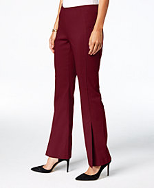 I.N.C. Curvy Pull-On Bootcut Pants, Created for Macy's