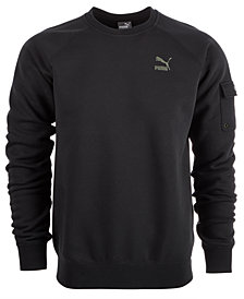 Puma Men's Fleece Cargo Sweatshirt