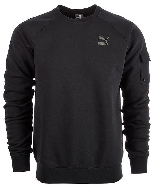 290af9aa6732 Puma Men s Fleece Cargo Sweatshirt   Reviews - Hoodies   Sweatshirts ...
