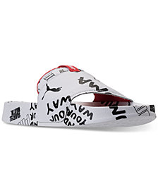 Puma Women's Leadcat Graphic SM Slide Sandals from Finish Line