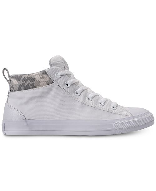 11e85387b7f5 ... Converse Men s Chuck Taylor All Star Street Mid Combat Zone Casual  Sneakers from Finish Line ...