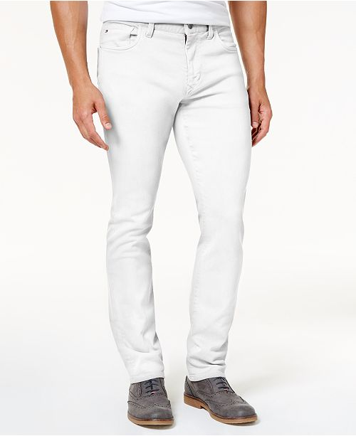 Men's Straight Fit Jeans, Created for Macy's