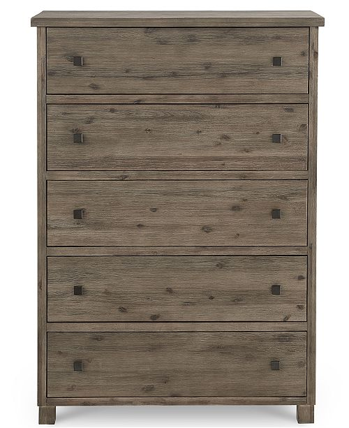 Furniture Canyon 5 Drawer Chest Created For Macy S Furniture Macy S