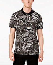 Just Cavalli Men's Arabian Nights Graphic Polo
