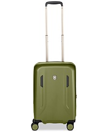 "CLOSEOUT! Victorinox Swiss Army VX Avenue 22"" Frequent Flyer Hardside Carry-On Suitcase in Olive"