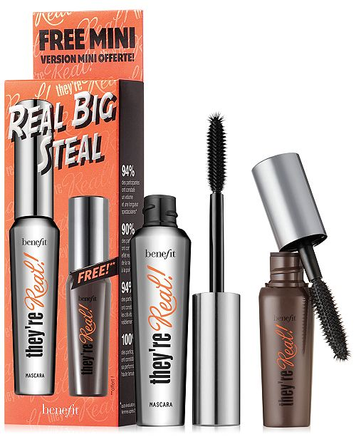 1b0100b72d6 Benefit Cosmetics 2-Pc. Real Big Steal Mascara Set & Reviews - Shop ...