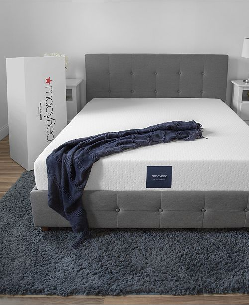 "MacyBed 8"" Firm Memory Foam Mattress , Quick Ship, Mattress in a Box - Full"