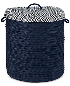 "Colonial Mills 16"" x 20"" Deluxe Houndstooth Basket"