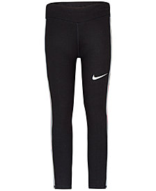 Nike Little Girls Dri-FIT Mesh-Panel Leggings