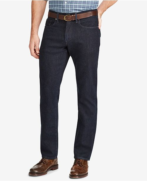 49a80325c4a ... Polo Ralph Lauren Men's Big & Tall Prospect Straight Stretch Jeans ...