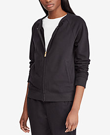 Lauren Ralph Lauren French Terry Jacket