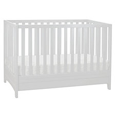 Mila 3-in-1 Crib, White