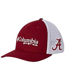 Columbia Alabama Crimson Tide PFG Stretch Fitted Cap