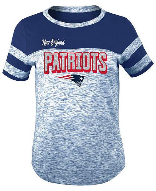 a15163b35 5th   Ocean New England Patriots Space Dye Glitter T-Shirt