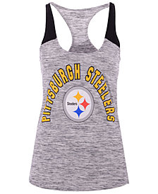 5th & Ocean Women's Pittsburgh Steelers Space Dye Tank