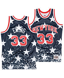 Mitchell & Ness Men's Patrick Ewing New York Knicks The 4th Swingman Jersey