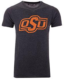Retro Brand Men's Oklahoma State Cowboys Alt Logo Dual Blend T-Shirt