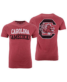 Retro Brand Men's South Carolina Gamecocks Team Stacked Dual Blend T-Shirt