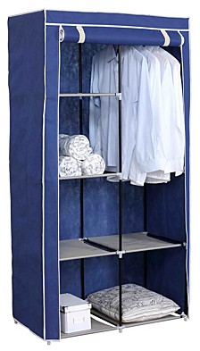 Storage Closet with Shelving