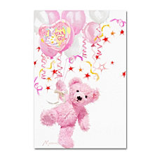 The Macneil Studio 'Pink Teddy' Canvas Art Collection