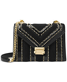 Michael Kors Whitney Embellished Shoulder Bag