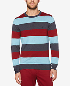 Original Penguin Men's Rugby Stripe Sweater