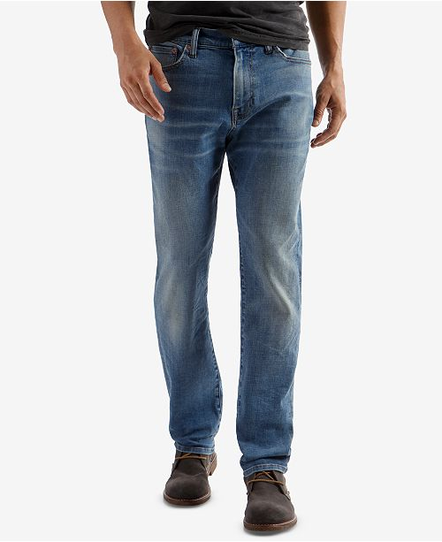 ac6aebaf Lucky Brand Men's 410 Athletic-Fit Slim Leg Jeans & Reviews - Jeans ...