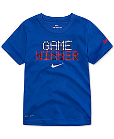 Nike Little Boys Dri-FIT Game Winner Graphic T-Shirt