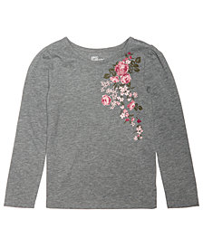 Epic Threads Toddler Girls Long-Sleeve T-Shirt, Created for Macy's