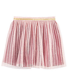 Epic Threads Toddler Girls Glitter-Tulle Pleated Skirt, Created for Macy's