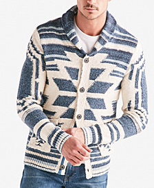 Lucky Brand Men's Heritage Shawl-Collar Cardigan