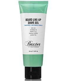Beard Line-Up Shave Gel, 3.4 fl. oz.