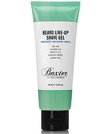 Baxter Of California Beard Line-Up Shave Gel, 3.4 fl. oz.