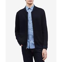Calvin Klein Men's Merino Full-Zip Sweater
