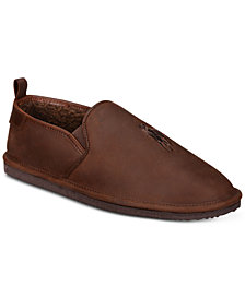 Polo Ralph Lauren Men's Ayden Leather Slippers