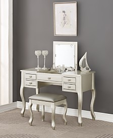 Vanity Set with Stool